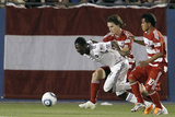 Frisco, TX March 19 - David Ferreira, Patrick Nyarko and Zach Loyd Photographic Print by Brandon Wade