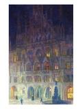 The Old Town Hall in Marienplatz, Munich; Altes Rathaus, Marienplatz, Munich Giclee Print by Charles Palmier