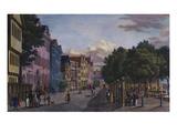 A View of Jungfernstiegs in Hamburg, from 'The Open Air Views of the City of Hamburg';  Ansichten… Prints