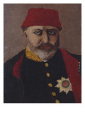 Portrait of the Ottoman Sultan, Abdel Aziz (1861-76) Giclee Print by  Turkish School
