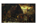 The Temptation of Saint Anthony Posters by Jakob Isaaksz Swanenburgh