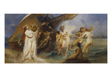 The Sirens Gicl&#233;e-Druck von Eduard Veith