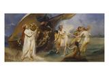 The Sirens Giclée-Druck von Eduard Veith