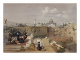Lithograph from 'The Holy Land, Syria, Idumea, Arabia, Egypt and Nubia' Giclée-Druck von David Roberts