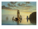 Evening Tide Giclée-trykk av William Partridge Burpee