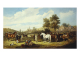 A Country Fair Giclee Print by Charles Waller Shayer