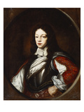 Portrait of a Young Gentleman, Wearing a Breastplate, over a Red Doublet with Slashed Sleeves Giclee Print by Giuseppe Ghislandi