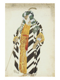 Costume Design for a Dancer in Suite Arabe Prints by Leon Bakst