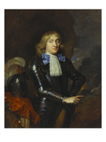 Portrait of Lambert Witsen (1638-1697), Colonel in the Amsterdam Militia, Standing in Armour Giclee Print by Caspar Netscher