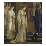 Princess Sabra Led to the Dragon Giclee Print by Edward Burne-Jones