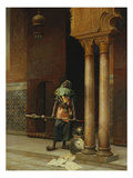 The Harem Guard Lmina gicle por Ludwig Deutsch