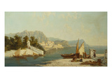 The Amalfitan Coast Giclee Print by William Raymond Dommersen