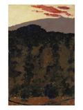 Paysage Kunstdruck von Edouard Vuillard