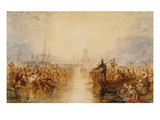 Saint-Vaast-La-Hougue, Normandy Prints by J. M. W. Turner