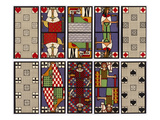 A Set of Tarot Cards Giclee Print by Ditha Moser
