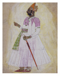 Portrait of Bhim Singh of Jodhpur (1794-1804) Giclee Print