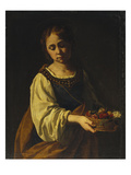 Saint Dorothea Giclee Print by Antiveduto Gramatica (Attr to)