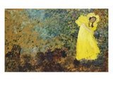 May Belfort on Stage; May Belfort Sur La Scene Giclee Print by Edouard Vuillard