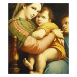 The Madonna Della Sedia Posters by Francois-xavier Fabre