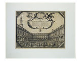 Royal Exchange of London Giclee Print by Wenceslaus Hollar