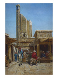 The Bazaar Giclee Print by Richard Sommer