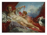 Venus and Cupid Giclee Print by Francois Boucher