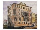 Palazzo Baldoer, Venice Prints by George Edmund Street
