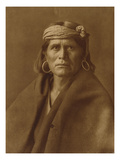 A Walpi Man, Hopi, 1906 Giclee Print by Edward S. Curtis