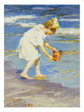 Brighton Beach Giclee Print by Edward Henry Potthast