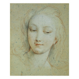 The Head of Venus Giclee Print by Francois Lemoyne