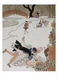 Vlan Giclee Print by Georges Barbier