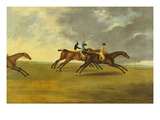 Lord Grosvenor's 'Enterprise' Winning from 'Waty' and 'Hannibal' at Brightelmstone Races, 1804 Prints by Edwin Cooper