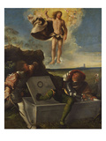 The Resurrection Gicle-tryk af Giovanni de Busi Cariani