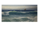 The Breaking Wave Giclee Print by David James