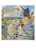 Blow Wind Blow and Go Mill Go Giclee Print by Henry Matthew Brock
