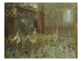 The Coronation of Czar Nicolas Ii Giclee Print by Laurits Regner Tuxen