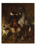 The Young Horseman Giclee Print by Alfred De Dreux