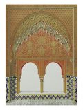 La Alhambra, From: Plans, Elevations, Sections and Details of the Alhambra from Drawings Taken on… Giclée-Druck von Owen Jones
