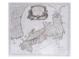 L&#39;Empire Du Japon. from &#39;Universal Atlas Drawings on the Best Modern Maps&#39;;  &#39;Atlas Universale Giclee Print by Pietro Santini