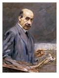 Self Portrait; Selbstbildnis Prints by Max Liebermann