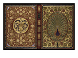 The Rubaiyat of Omar Khayyam.  a Magnificent Jewelled 'Peacock' Binding with 34 Stones and 408… Giclee Print
