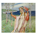 Spring Giclee Print by Edward Reginald Frampton