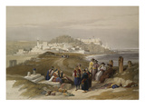 Jaffa, Ancient Joppa. from 'The Holy Land, Syria, Idumea, Arabia, Egypt and Nubia' Print by David Roberts
