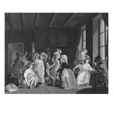 The Dressing for Ballet; Les Apprets Du Ballet Reproduction procédé giclée par Salvadore Tresca