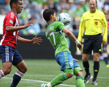 Seattle August 13 - Fredy Montero and Michael Umana Photo by Otto Greule Jr
