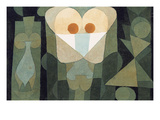 The Physiognomy of a Bloodcell; Physiognomie Einer Blute Giclee Print by Paul Klee
