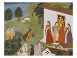 Illustration to the Bhagvata Purana Print