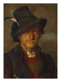 A Tyrolean Peasant Gicl&#233;e-Druck von Franz Von Defregger