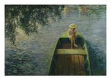 The Boat on the Marne; En Barque Sur La Marne Posters by Henri Lebasque