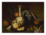 Still Life with Vase, Fruit and Nuts Giclee Print by Joseph Biays Ord